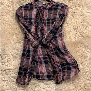 BKE plaid shirt size extra small